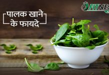 Benefits Of Eating Spinach